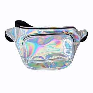 Holographic Fanny Pack for Festivals and Raves